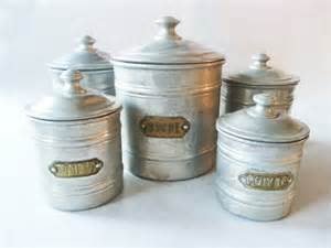 Kitchen Canisters French Easter Vintage French Kitchen Canisters By