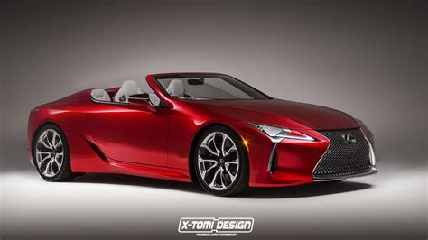 lexus convertible 2017 lexus lc 500 puts on convertible carscoops