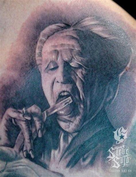 fantasy dracula vampire tattoo by steve soto