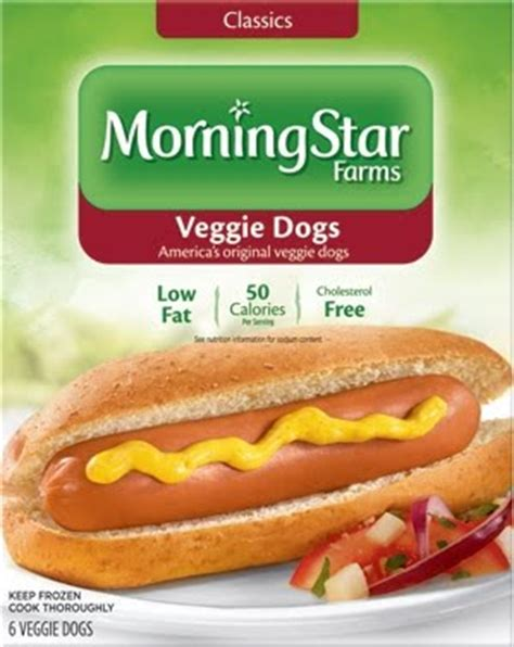tofu dogs adventures in morningstar veggie dogs