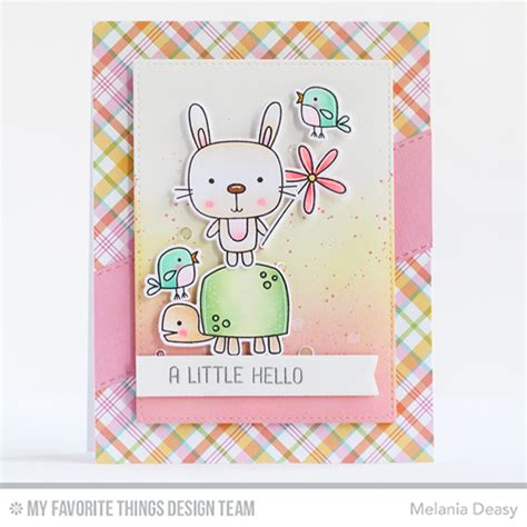 Set Deasy handmade card from melania deasy featuring springtime critters st set and die namics