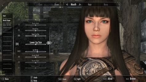 beautiful hair skyrim steam community guide how to create cute character