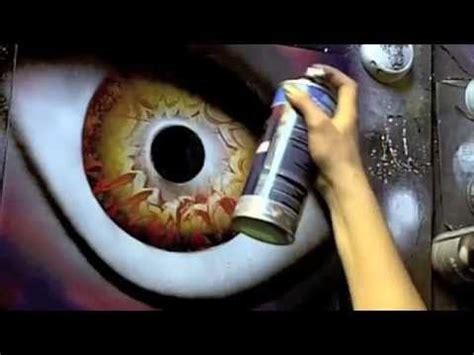 spray paint eye tutorial april 2014 spray paint secrets spray paint eye black