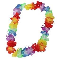 Lei Hawaiian Flowers - online get cheap hawaiian flower necklace aliexpress com