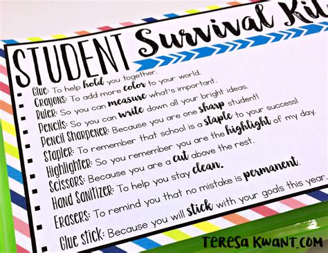 Back to  Survival Kits   Teresa Kwant