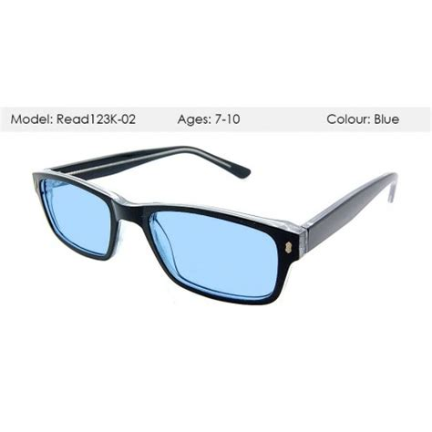lightly tinted glasses for indoor use kids aqua tint glasses for dyslexia visual stress read123