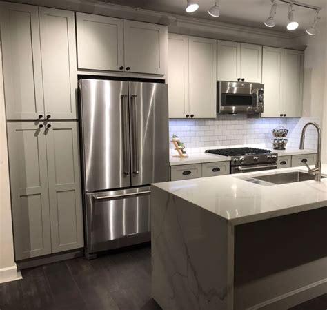 kitchen vanity cabinets snow white french grey shaker kitchen and vanity cabinets