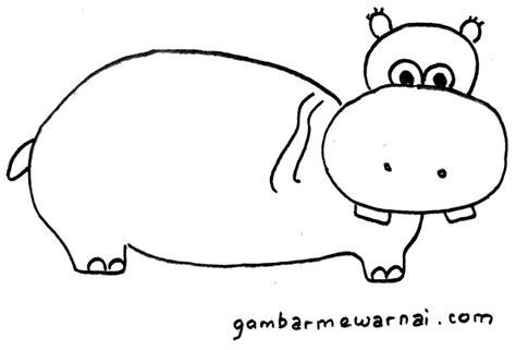 tutorial gambar hewan untuk anak belajar menggambar untuk anak gambar mewarnai