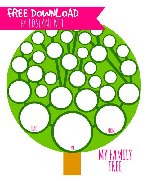lds family tree printable my family tree printable by ldslane net live it love it
