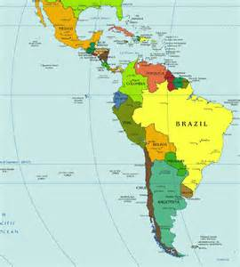 Central America Map In Spanish by Central And South America Diving Information I Scuba