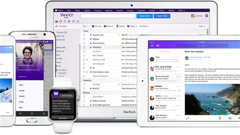yahoo mail new layout 2015 yahoo mail eliminates passwords as part of a major