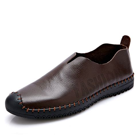 model slippers new models fall shoes leather shoes foot driving shoes