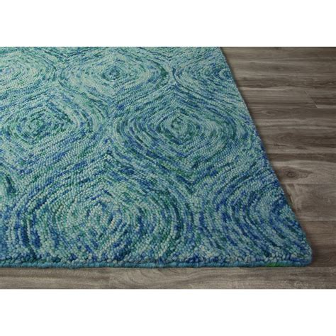 pattern blue carpet jaipur rugs modern abstract pattern blue wool area rug