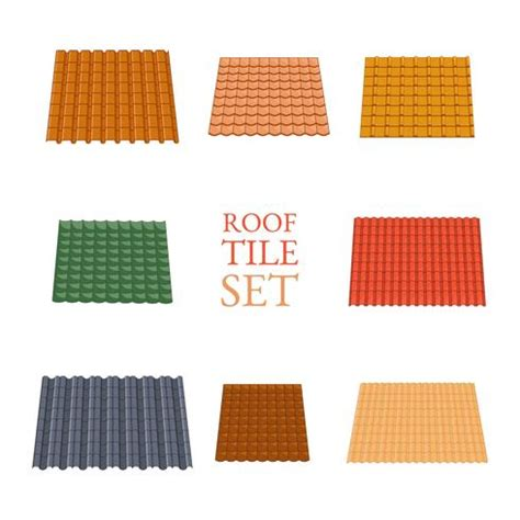 tile roofing icon roof tile vector free vector stock