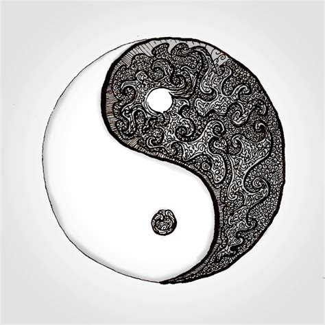 yin yang doodle by whispygames on deviantart