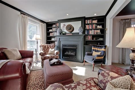 Living Room Mantel Shelf Fireplace Mantels And Bookcases Living Room Contemporary