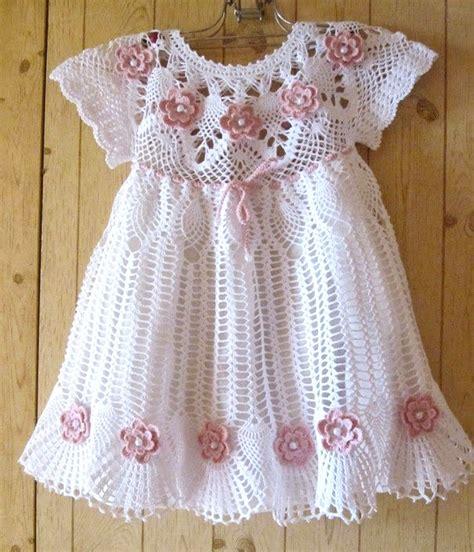 vestidos para bebes de tejido vestidos tejidos a ganchillo para reci 233 n nacidos