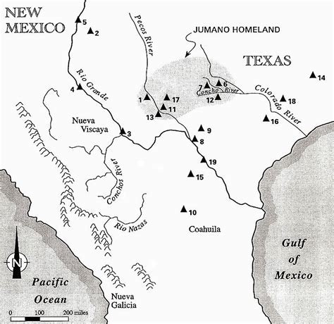 map of texas indian tribes peoples