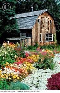 the flower barn barn and flower garden outdoor inspiration