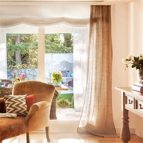 cortinas rusticas para salon elegir cortinas y acertar telas medidas y materiales