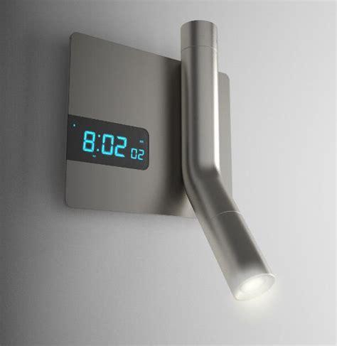 reading light flashlight  alarm clock  wall mounted genius space interior lamp