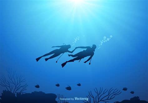 underwater vector background   vector art