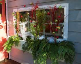 Build and decorate a window box click pic for 21 diy christmas