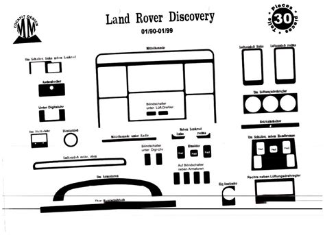 Topi Snapback Land Rover Best Seller Yomerch land rover discovery 1 01 90 09 98 cockpit dekor armaturen interieur 3m 3d 30 teile