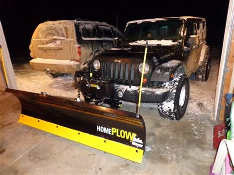 review of home plow by meyer snowplow power angling