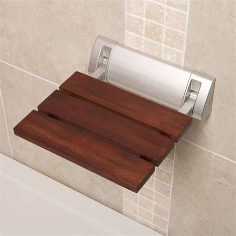 bathroom shower seats sapele luxury folding shower bathroom seat modern bathroom