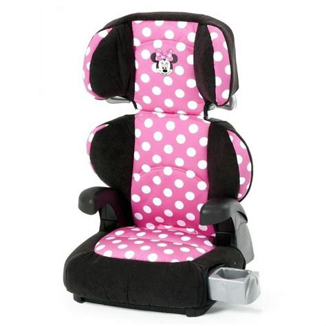 minnie mouse high back booster seat disney minnie mouse pronto belt positioning back booster