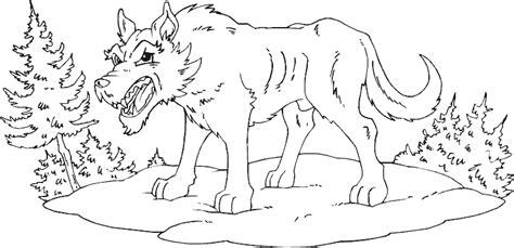 angry wolf coloring page angry wolf coloring page coloring com