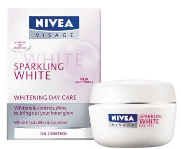 Sabun Muka Nivea Sparkling White Nivea Visage Sparkling White Whitening Day Care