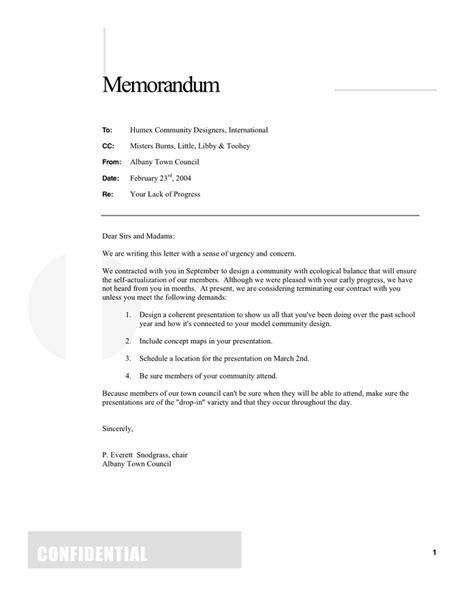 Memo Template Pages memo template in word and pdf formats