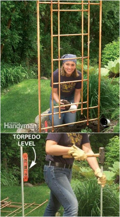 easy diy trellis ideas  add charm  functionality