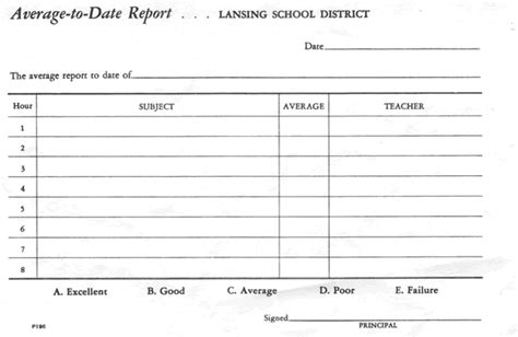 blank template for report card blank report card templates pr gif pay stub template
