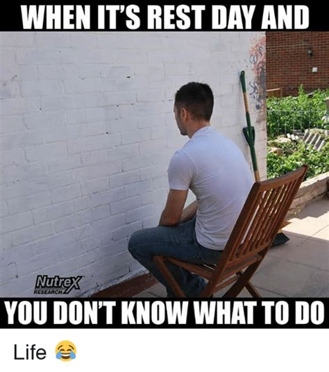 Rest Day Meme - 25 best memes about rest day rest day memes