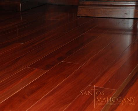100 santos mahogany hardwood flooring mohawk