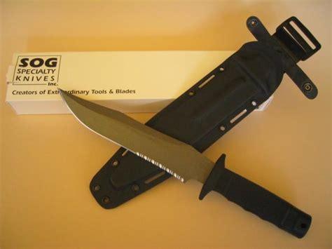 sog tiger shark sog knives collectors tigershark powdered