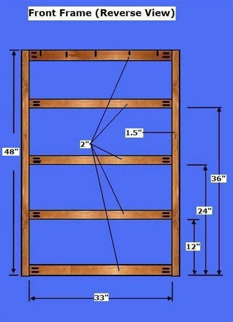 dresser plans   build  chest  drawers