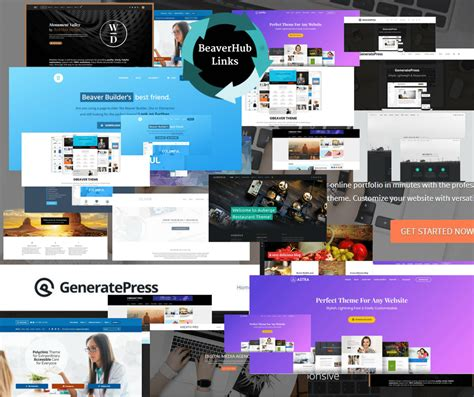 themes compatible with page builder a full list of beaver builder compatible themes