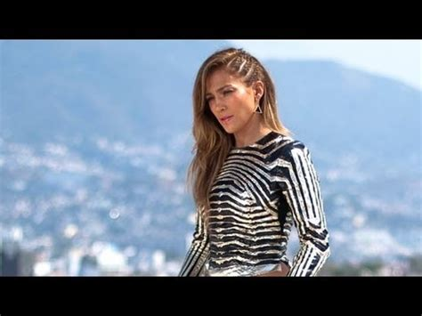 J Lo In Follow The Leader Hairstyle | jennifer lopez sneak peek follow the leader music video