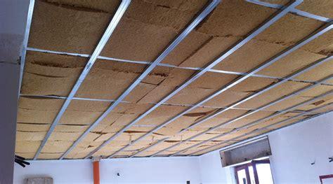 controsoffitto isolamento termico fibertherm flex fibrolegno betonwood