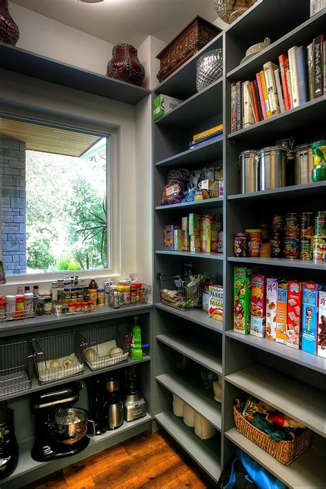 What Is Pantry Room by Walk In Pantry Shelving Systems Transitional Style For Kitchen With Luxury Home By Barley
