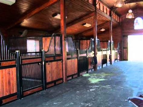 Monitor Style Barn by Monitor Style Horse Barn Youtube