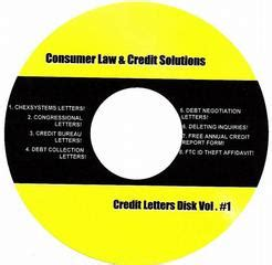Do It Yourself Credit Dispute Letter Package Consumer Credit Solutions Odessa Tx 79762 432 940 1170