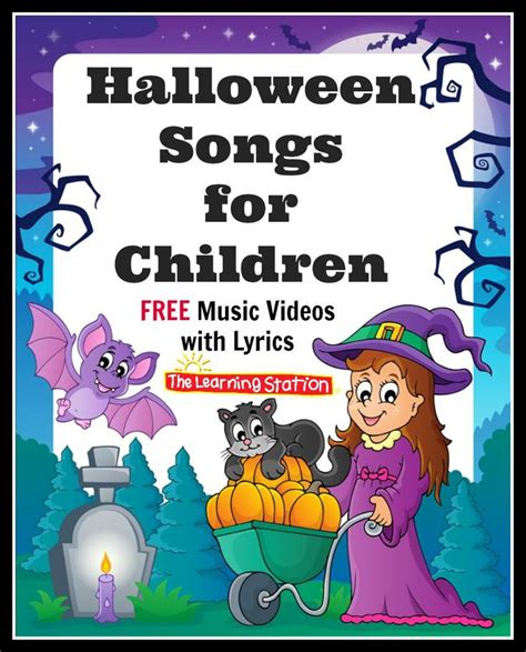 halloween themed songs 17 best images about halloween songs for children on