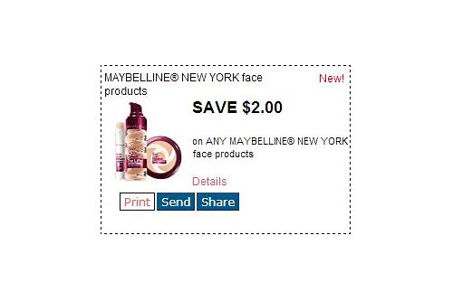 maybelline coupons in sunday paper