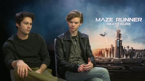 aktor film maze runner maze runner how does a movie cast recover when the star