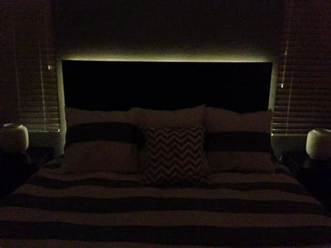headboard with lights how to make a floating headboard with led lighting